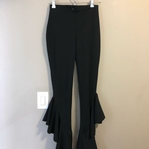 Misguided stretchy pants with ankle detail